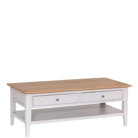 Newhaven Grey Painted Large Coffee Table